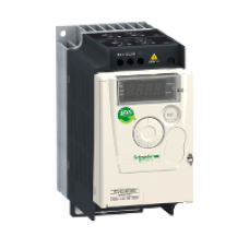 ATV12H075M2 - variable speed drive ATV12 - 0.75kW - 1hp - 200..240V - 1ph - with heat sink